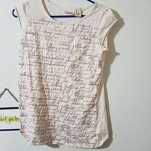 DKNY short sleve shirt